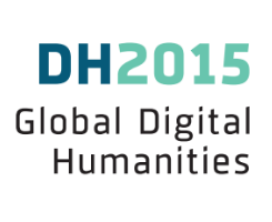 Digital Humanities 2015 Logo